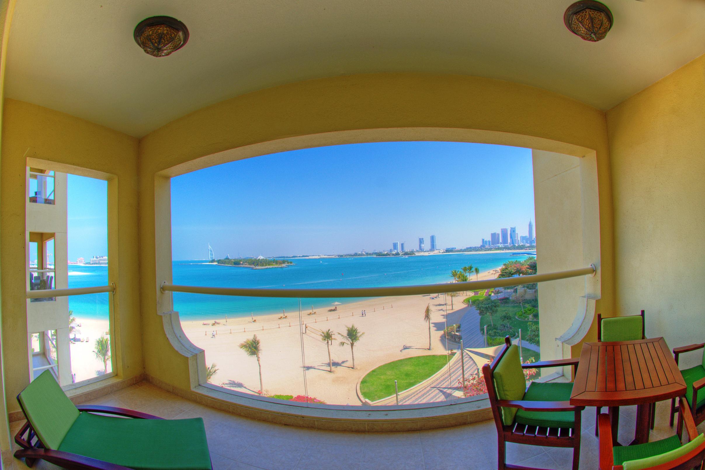 One Bedroom Apartment Balcony Sea View